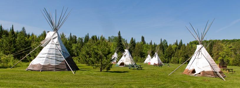 le camping en Inde
